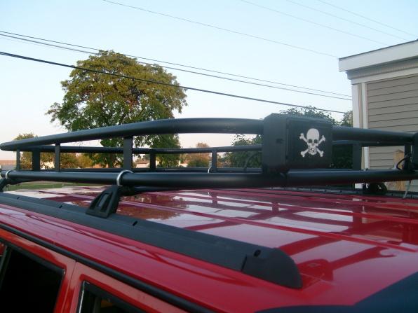home brew EMT roof rack