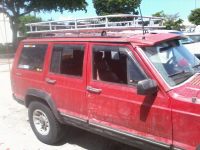 My EMT Roof Rack - Jeep Cherokee Forum