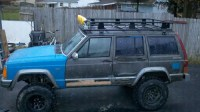 home made light bar / roof rack - Jeep Cherokee Forum