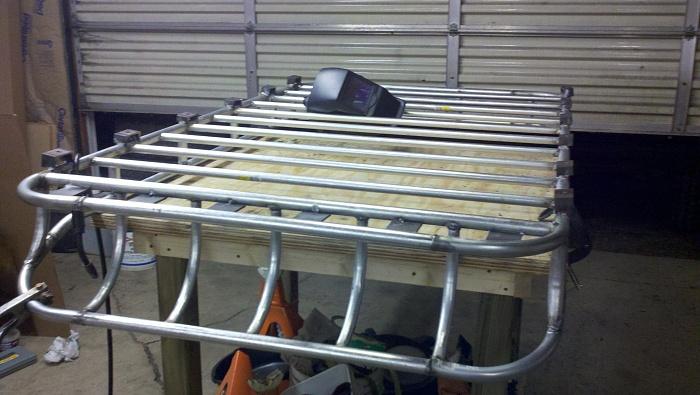 homemade roof rack jeep cherokee forum