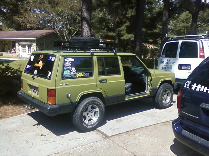 jeep cherokee xj modifications