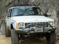 cherokee roof rack/ light bars (and bumper lights) - Jeep ...