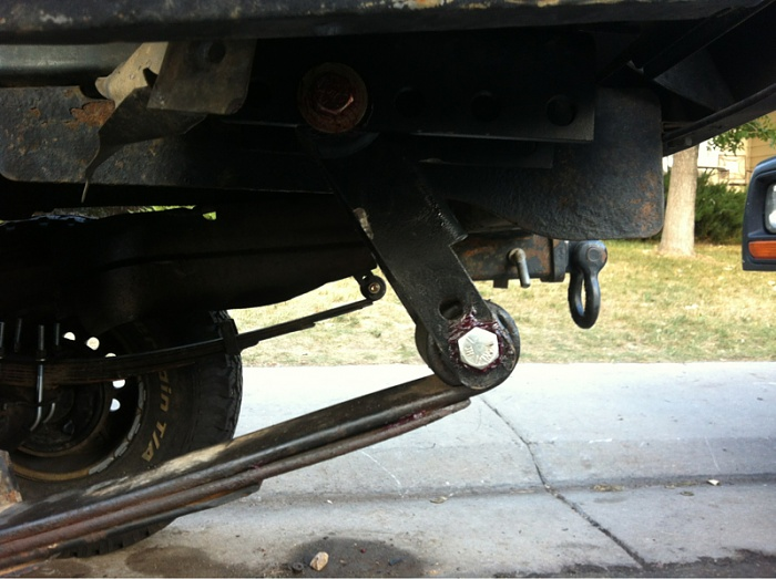 Rear Shackles Shot Jeep Cherokee Forum