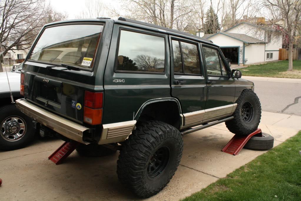Stock Cherokee 35s