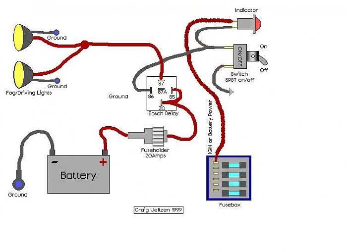 fog light wiring diagram with relay wiring diagram 240sx Fog Light Relay Wiring Diagram need wiring diagram from fog l switch to relay fixya Why Use Fog Light Relay