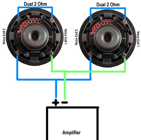 subwoofer wiring diagram dual 2 ohm chinese quad bike cvr 12 kicker 4 34 images43738d1302139698 sub question wired parallel