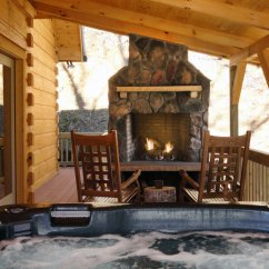 All Leather Sofa Bed Next Elliot Corner North Carolina Honeymoon Cabin With Mountain View & Hot Tub