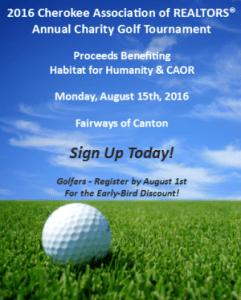 2016 CAOR Golf Tournament