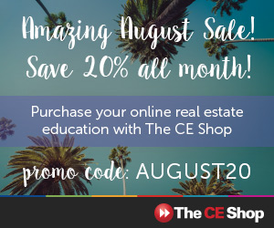 August CE Promotion