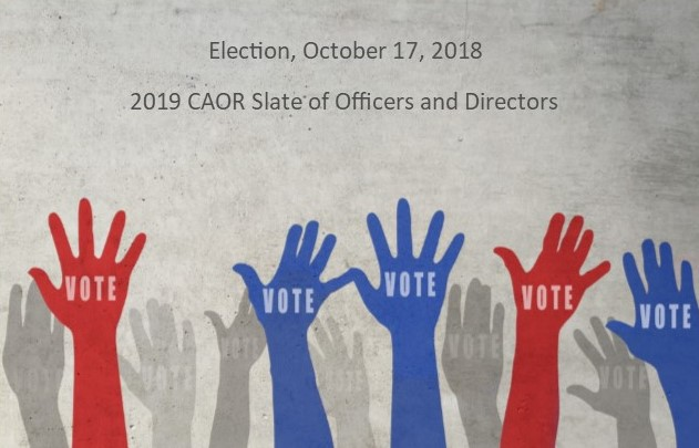 2019 Proposed Slate of Officers and Directors