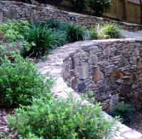 Stone Walkway Ideas & Stone Wall Hardscape Inspiration