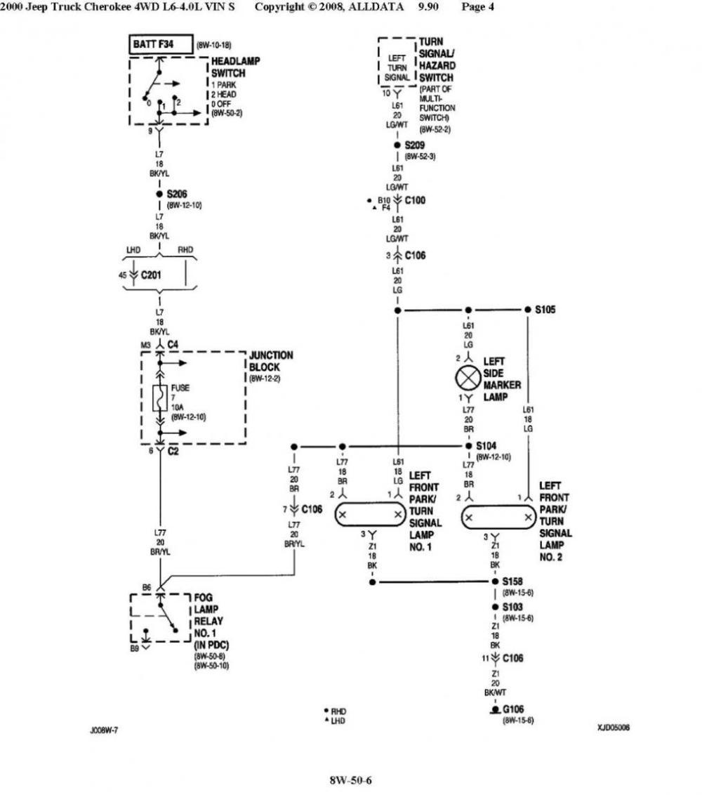 medium resolution of jeep cherokee fog light wiring harness wiring diagram mega 2000 jeep cherokee fog lights wiring wiring