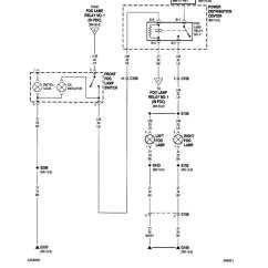 Fog Lights Wiring Diagram Msd 6al 2 Xj Oem Light