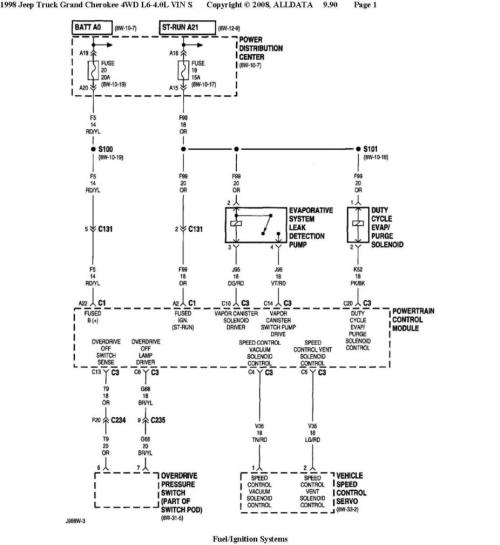 small resolution of here are wiring diagrams based on both vehicles having 4 0 s