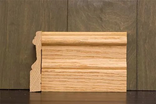 414 inch B2 Crescent Baseboard  Cherokee Wood Products