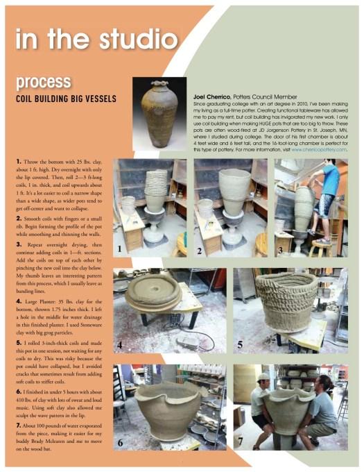 Page 3, Potters Pages, Potters Council 2013