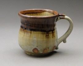 Nuka Glaze with Iron Stoneware Mug, Joel Cherrico Pottery, 2013