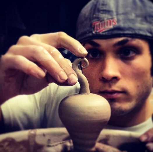 Joel Cherrico Sculpture, 2014, Spiral, Nautalis sculpture