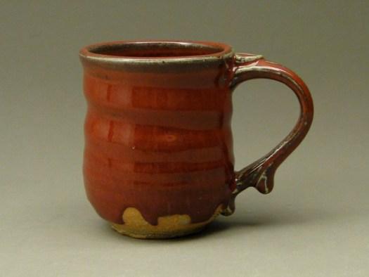 Stoneware Wheel Thrown Mug, Cups, Handmade Pottery, Handmade Ceramic Pottery, sku 426, Image 1