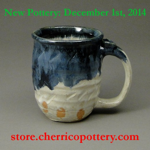 Image 2, Handmade Ceramic Pottery, mug, Cherrico Pottery, Online Christmas Sale, 2014