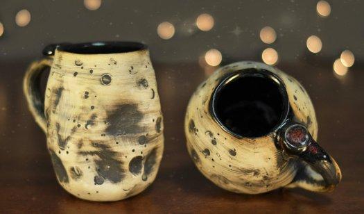 lunar-mugs-banner, Cherrico Pottery, Handmade Ceramic Pottery
