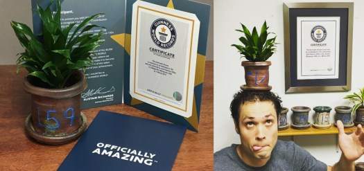 Cherrico Pottery Guinness World Record Pottery long banner2