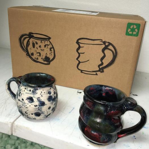 cosmic mug and lunar mug combo pack