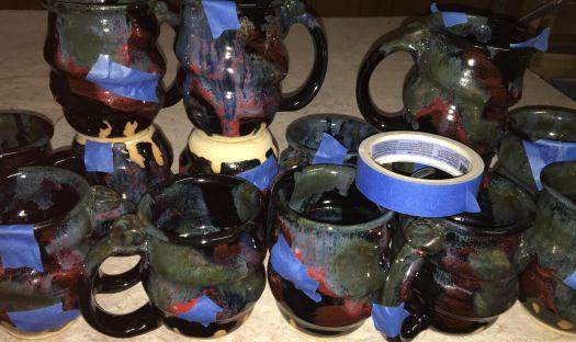 Rough Textures – Joel Cherrico Pottery