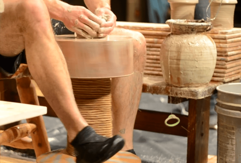 cherrico pottery kick wheel pottery world record – Edited