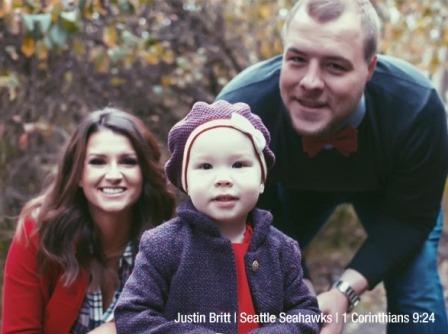 Justin Britt & Family