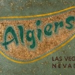 The Algiers 12 x 18 Acrylic with prismacolor and glitter on panel (2003) by Cherry Capri