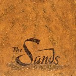 Sands Sun - 12x18 acrylic, prismacolor and glitter on panel (2003) by Cherry Capri