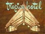 Tropics Hotel 48x36, Acrylic and Mixed Media on Panel (2003) by Cherry Capri