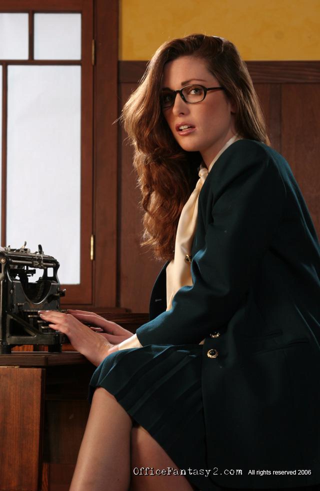 Aimee Sweet Typewriting Secretary