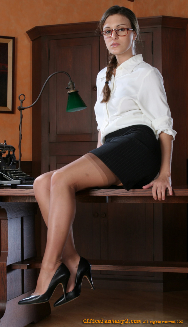 Andie Valentino The Office Cutie