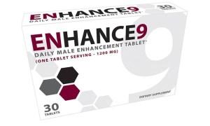 Enhance 9 daily male enhancement tablets