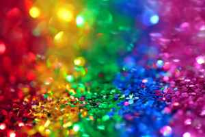 A rainbow of sequins is how we expect queerness to be performed: bright and attention-grabbing.