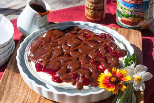 Simple Cherry Trifle