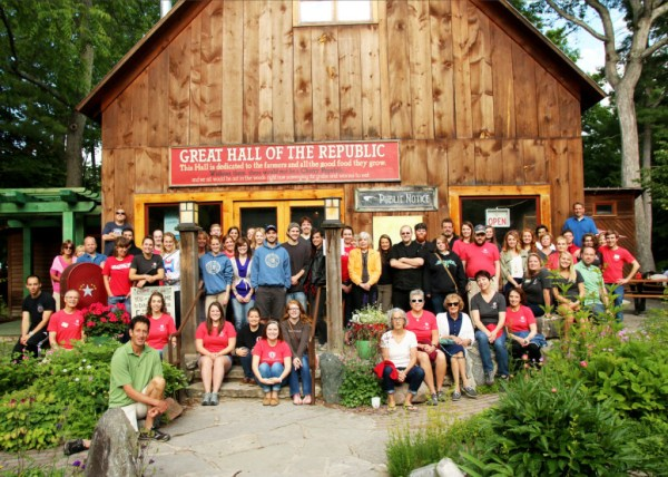 Our awesome 2015 Cherry Republic Summer staff.