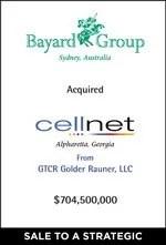 Bayard Group Completes Cellnet Acquisition