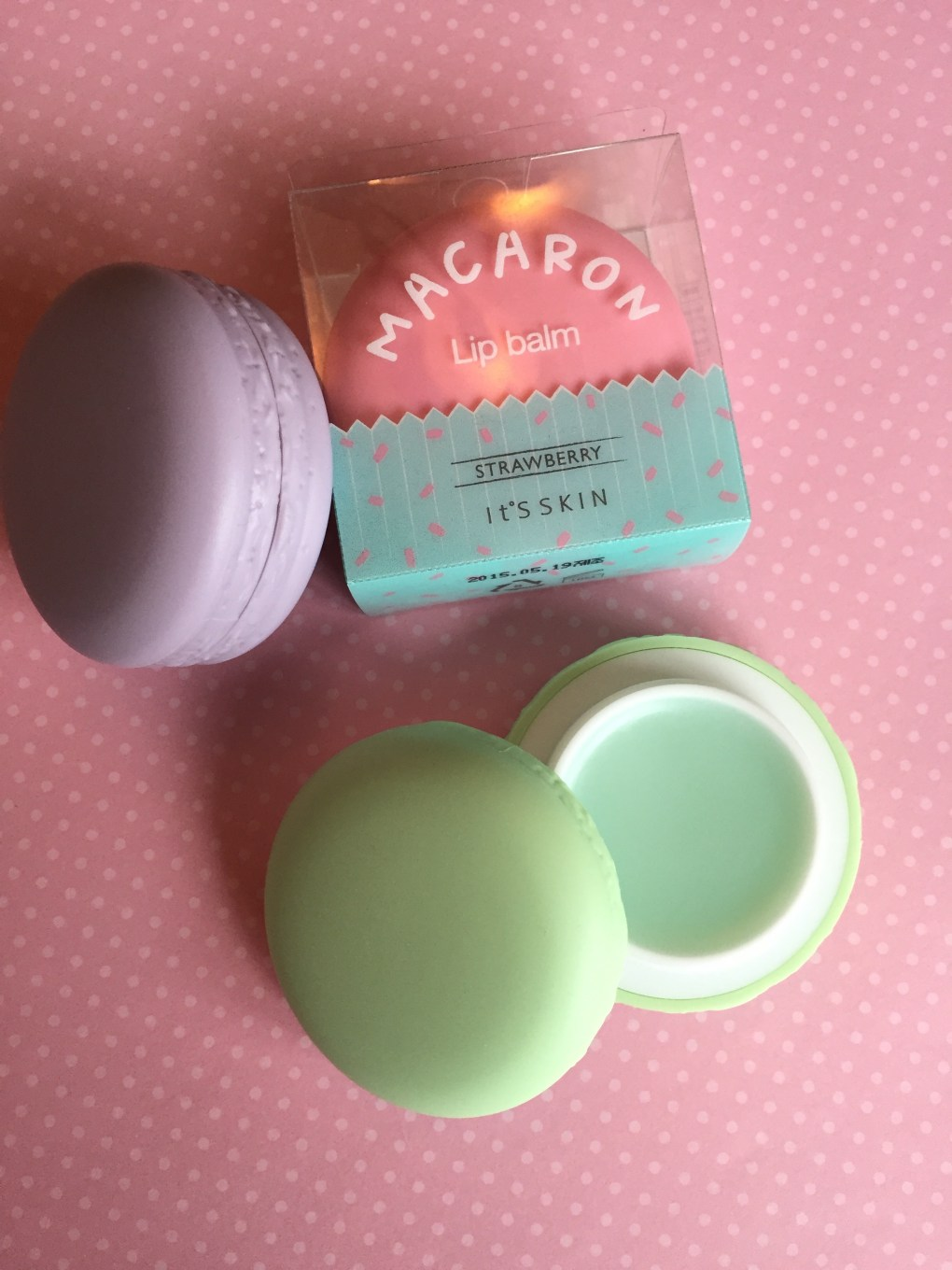 Macaroon Lip Balm from It's Skin