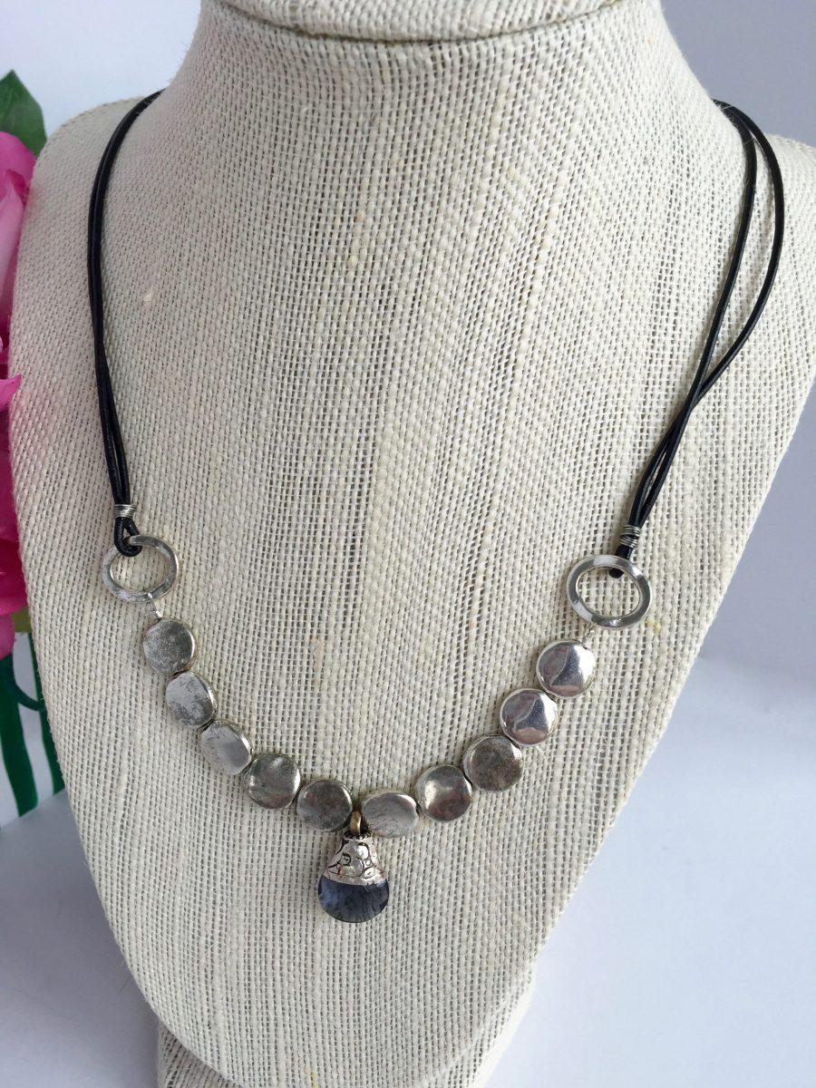 Swarovski Tanzanite Crystal Pendant