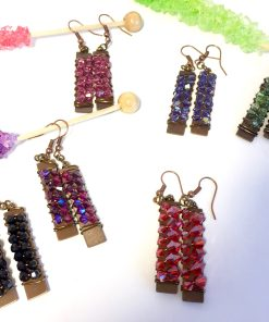 Swarovski Crystal Rock Candy Dangle Earrings