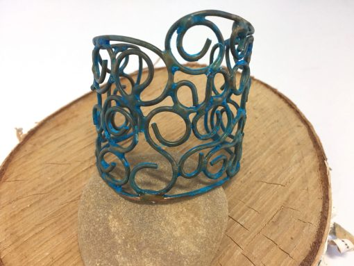 Cleopatra's Custom Copper Cuff Bracelet