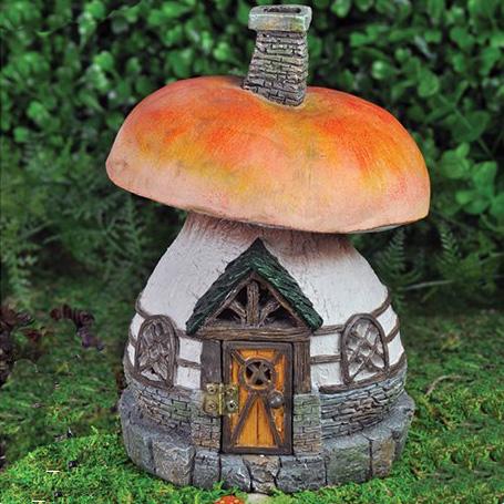 mushroom cottage fairy house