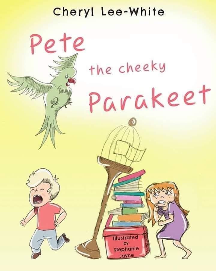 Pete the Cheeky Parakeet Rhyming Children's Book