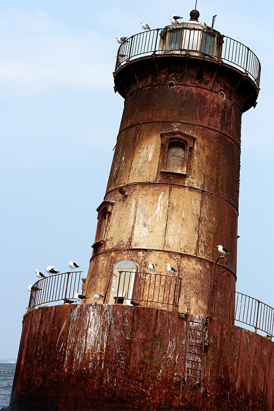 Eleven lighthouses in the Chesapeake Bay watershed