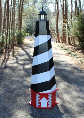 Plans for a Cape Hatteras Lawn Lighthouse DIY Wood Plans
