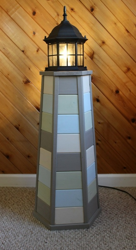 Handcrafted Lighthouse Lamps