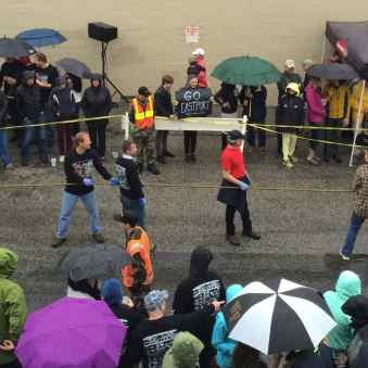Eastport tug of war